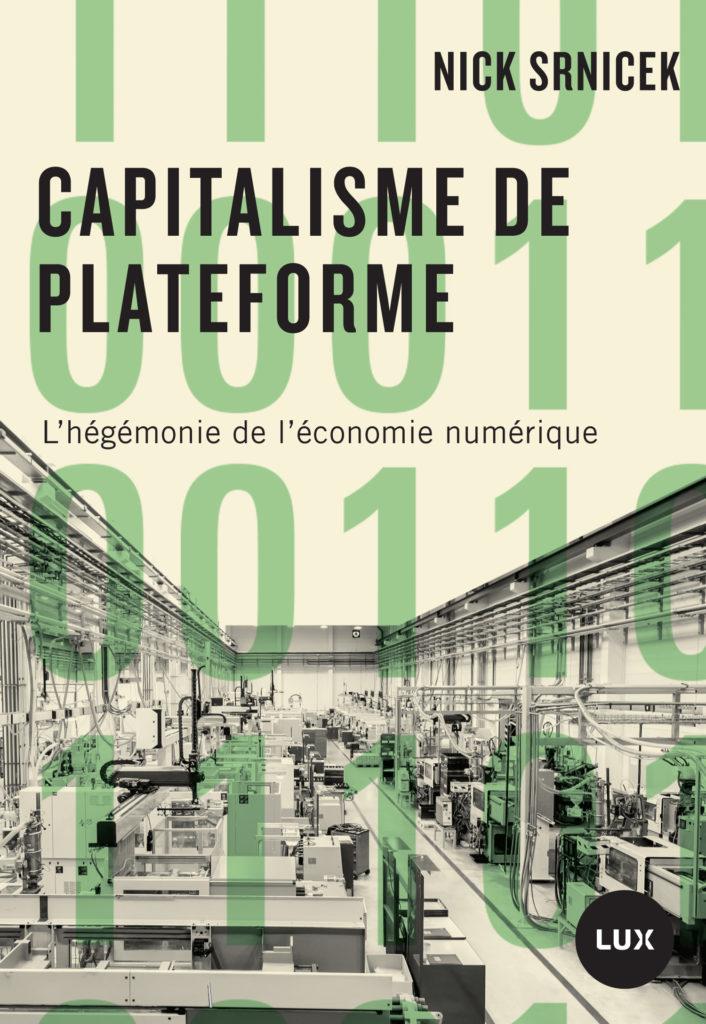 Livre : Le capitalisme de plateforme